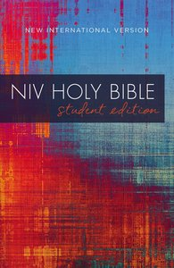 NIV Student Outreach Bible Red Blue Graphic