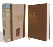 NIV Readers Bible Brown (Black Letter Edition)