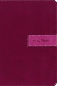 NIV Gift Bible Indexed Pink (Red Letter Edition)