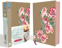 NIV Journal the Word Bible For Teen Girls Gold/Floral