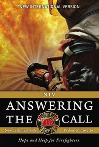 NIV Answering the Call New Testament With Psalms and Proverbs (Black Letter Edition)