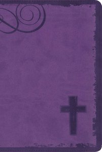 NIV Rock Solid Faith Study Bible For Teens Violet