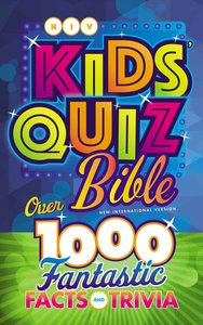 NIV Kids Quiz Bible