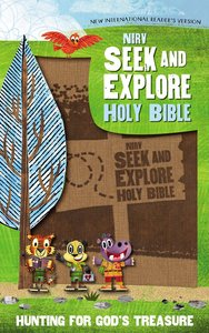 NIRV Seek and Explore Holy Bible Tan