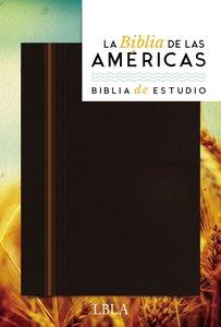 Lbla Biblia De Estudio (La Biblia De Las Americas)