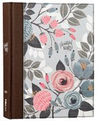 NIV Beautiful Word Bible Floral (Black Letter Edition)