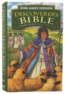 KJV Discoverers Bible Large Print (Red Letter Edition)