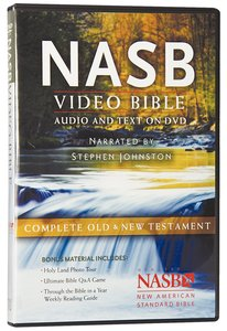 NASB Video Bible Narrated By Stephen Johnston (Audio And Text On Dvd Voice Only)