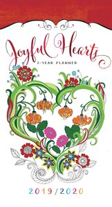 2019/2020 2 Year Pocket Diary/Planner: Joyful Hearts