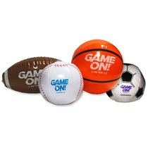 Small Inflatable Sports Balls (4 Pack) (Vbs 2018 Game On! Series)