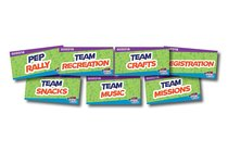 Rotation Signs (7 Pack) (Vbs 2018 Game On! Series)