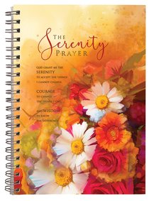 Spiral Hardcover Journal: Serenity Prayer