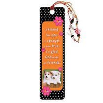 Bookmark With Beaded Tassel: A Friend Like You
