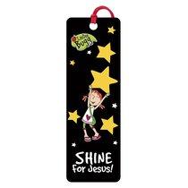 3d Bookmark: Laedee Bugg - Shine For Jesus!