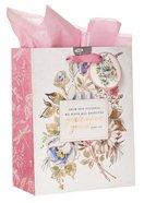 Gift Bag Medium: Grace Upon Grace, Floral