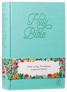 NLT Holy Bible Teal Soft-Tone Anglicized Edition