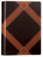 NKJV Unapologetic Study Bible Brown (Red Letter Edition)