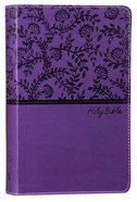 NKJV Deluxe Gift Bible Purple Red Letter Edition