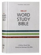 NKJV Word Study Bible (Red Letter Edition)