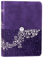 TPT New Testament Compact Violet (Black Letter Edition) (With Psalms Proverbs And Song Of Songs)