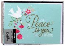 Christmas Boxed Cards: Peace Dove (John 1:14 Kjv)