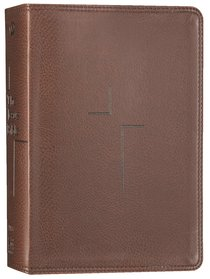 NIV the Jesus Bible Brown Comfort Print Edition (Black Letter Edition)