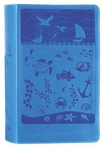 NIRV Study Bible For Kids Ocean Duo Tone