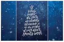 Christmas Pass-Around Cards: O Holy Night Star (25 Pack)