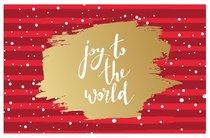 Christmas Pass-Around Cards: Joy to the World (25 Pack)