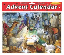 Advent Calendar: Newborn Child, Glitter
