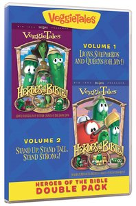 Veggie Tales Double: Heroes of the Bible Volume 1 & 2
