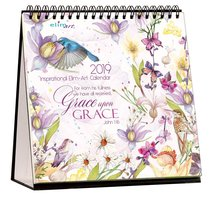 2019 Table Calendar: Grace Upon Grace