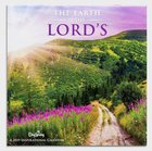 2019 Wall Calendar: The Earth is the Lords