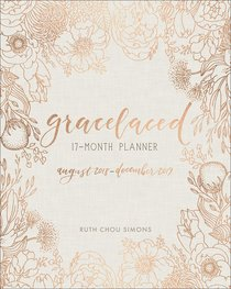 2018-2019 17-Month Diary/Planner: Gracelaced, Aug 2018-Dec 2109