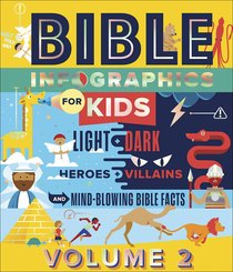 Bible Infographics For Kids: Angels and Demons, Heroes and Villains, and How to Outrun a Chariot (Vol 2)