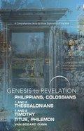 A Comprehensive Verse-By-Verse Explo (Genesis To Revelation Series)