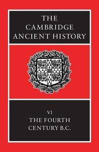 The Fourth Century Bc (#06 in Cambridge Ancient History Series)