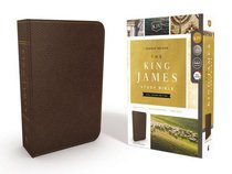 KJV Study Bible Bonded Leather Brown Full-Color Edition