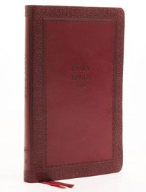 KJV Thinline Bible Red Indexed (Red Letter Edition)