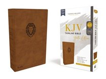 KJV Thinline Bible Youth Edition Brown (Red Letter Edition)