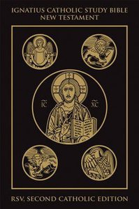 Rsv Ignatius Catholic Study New Testament Bible Black Gold Cloth 2nd Edition