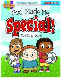 God Made Me Special (Ages 2-4, Reproducible) (Warner Press Colouring/activity Under 5s Series)