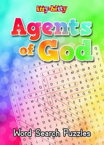 Activity Book Agents of God Word Search (Itty Bitty Bible Series)