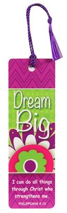 Tassal Bookmark: Dream Big