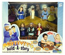 The Nativity Build-A-Story Playset (Tales Of Glory Toys Series)