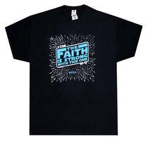 T-Shirt the Faith is Strong....Xlarge Black/Blue (1 Cor 16:13)