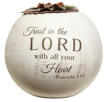 Light Your Way Round Tea Candle: Trust in the Lord (Proverbs 3:5-6)