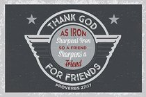 Poster Small: Thank God For Friends