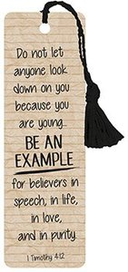 Tassel Bookmark: Be An Example