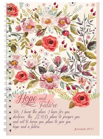 Spiral Softcover Journal: Hope and Future